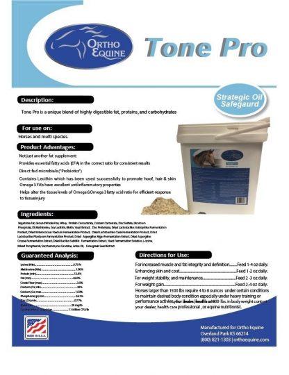 Ortho Equine Tone Pro