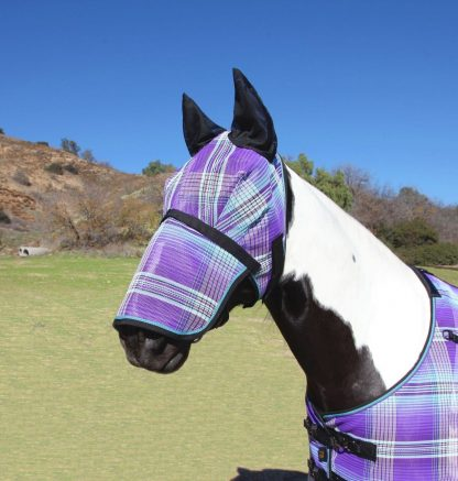 Kensington Fly Mask w/ Removable Nose & Soft Ears