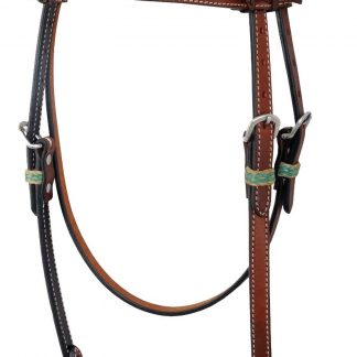 Rafter T Browband Headstall w/ Rawhide Keeper