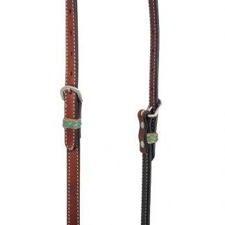 Rafter T One-Ear Headstall w/ Rawhide Keeper