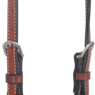 Rafter T One-Ear Headstall w/ Beaded Inlay