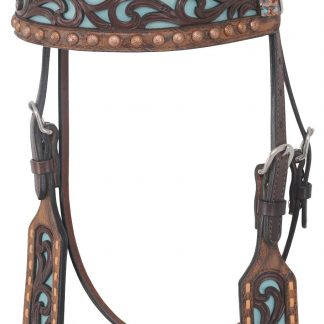 Rafter T Browband Headstall w/ Filigree