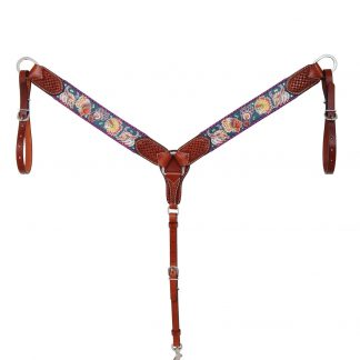 Rafter T Breast Collar w/ Tribal