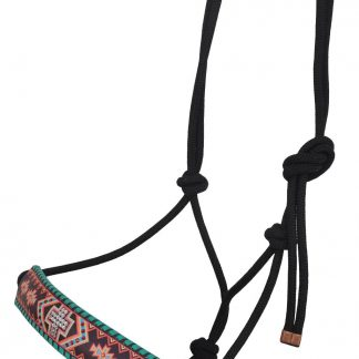 Rafter T Rope Halter w/ Aztec