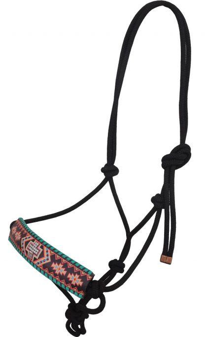 Rafter T Rope Halter w/ Aztec