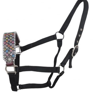 Rafter T Bronc Noseband w/ Multi-Color Design