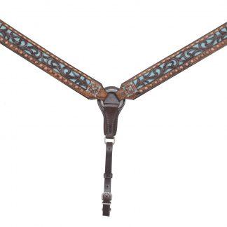 Rafter T Breast Collar w/ Filigree