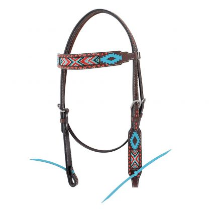 Oxbow Aztec Browband Headstall