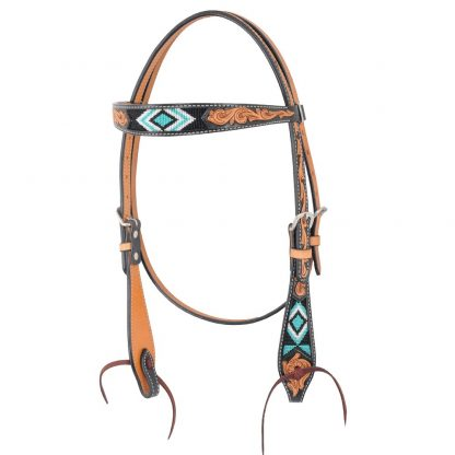 Oxbow Diamond Browband Headstall