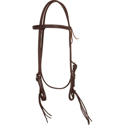 Oxbow Pineapple Knot Browband Headstall