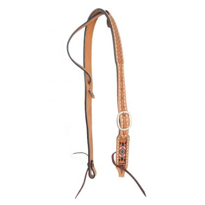 Oxbow Beaded Belt Ear Headstall