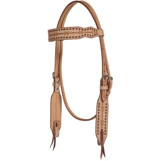Oxbow Roughout Browband Headstall