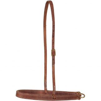 Oxbow Flat Harness Leather Noseband