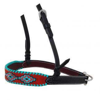 Rafter T Noseband w/ Embroidered Fringe