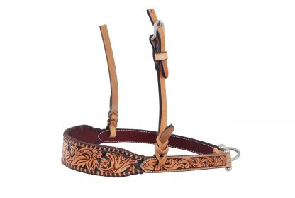 Rafter T Noseband w/ Floral Tooling