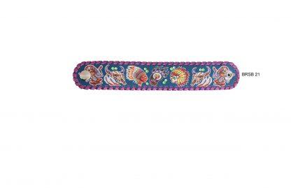 Rafter T Cuff Bracelet w/ Tribal
