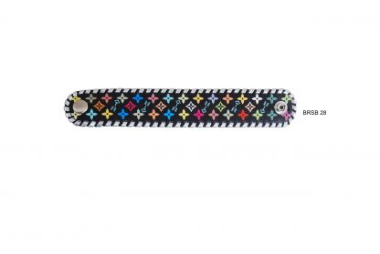 Rafter T Cuff Bracelet w/ Multi-Color