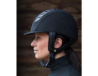Back On Track Trauma Void EQ3 Microfiber Helmet