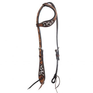 Oxbow Safari Beaded Slip Ear Headstall