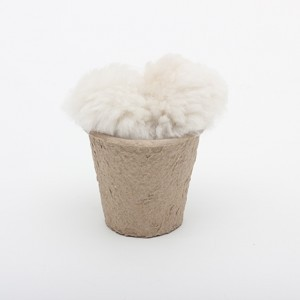 """Silly Sounds 3.5"""" Sheep Skin Ear Plugs"""