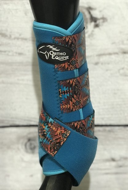 Ortho Equine Aztec 2 Print Boot - Pony