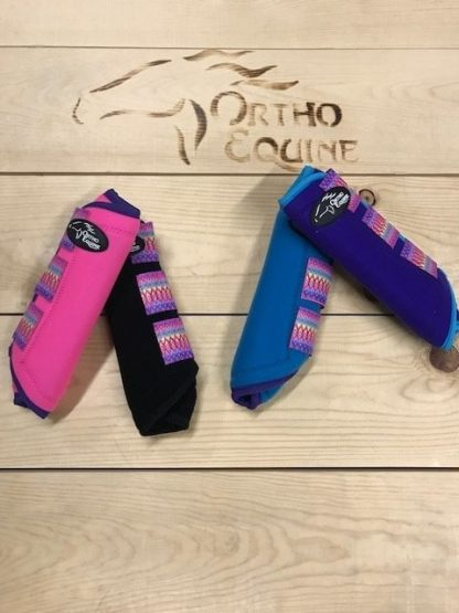 Ortho Equine Aztec Print Boot - Hind