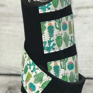 Ortho Equine Cactus Print Boot - Hind