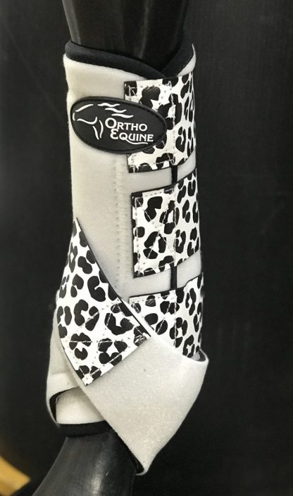 Ortho Equine Leopard Print Boot - Hind