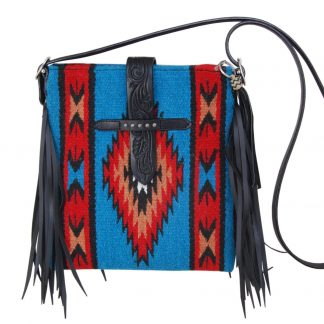Rafter T Cross Body Bag - Blue