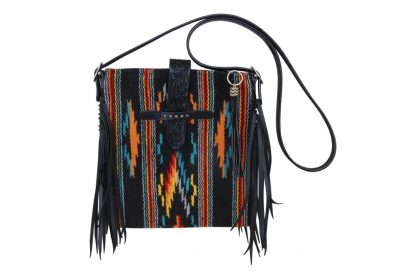 Rafter T Cross Body Bag - Black