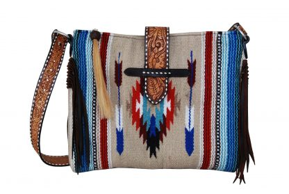 Rafter T Belted Tote - Arrow