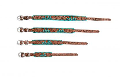 Rafter T Dog Collar - Painted Cactus