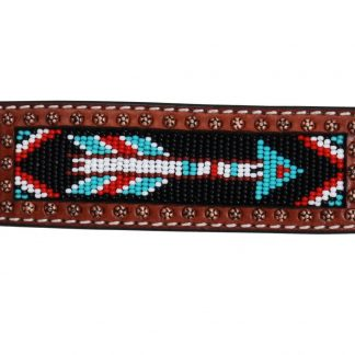 Rafter T Cuff Bracelet w/ Beaded Arrow