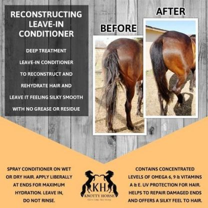 Knotty Horse Apricot Oil Recon Leave-In Conditioner