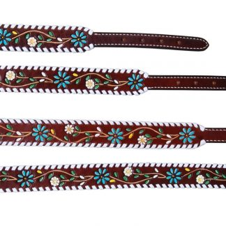 Rafter T Dog Collar - Floral Vine