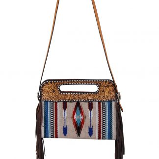 Rafter T Clutch/Cross Body Bag - Arrow