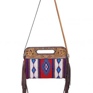 Rafter T Clutch/Cross Body Bag - RWB