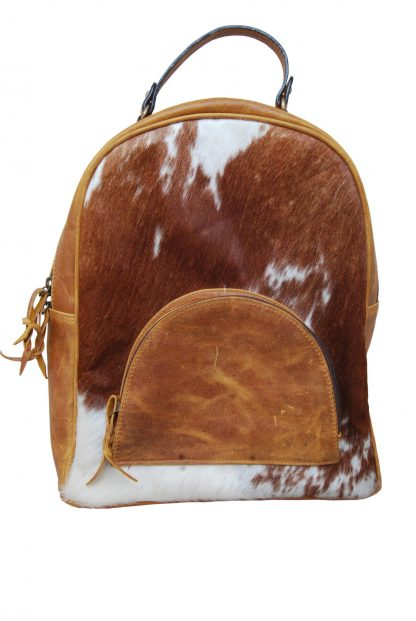 Rafter T Back Pack Bag - Cow Hide